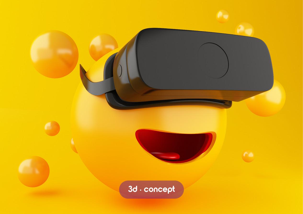 3D Emoji render