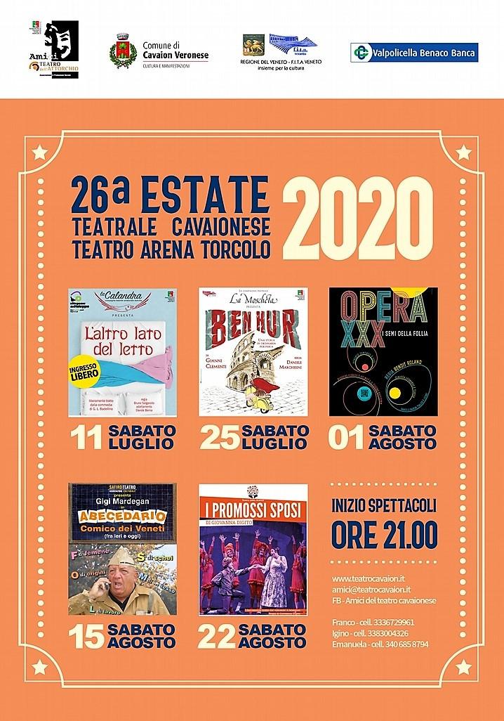 Manifesto Estate Teatrale 2020