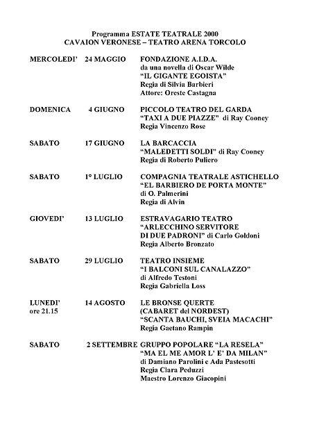 Estate Teatrale 2000