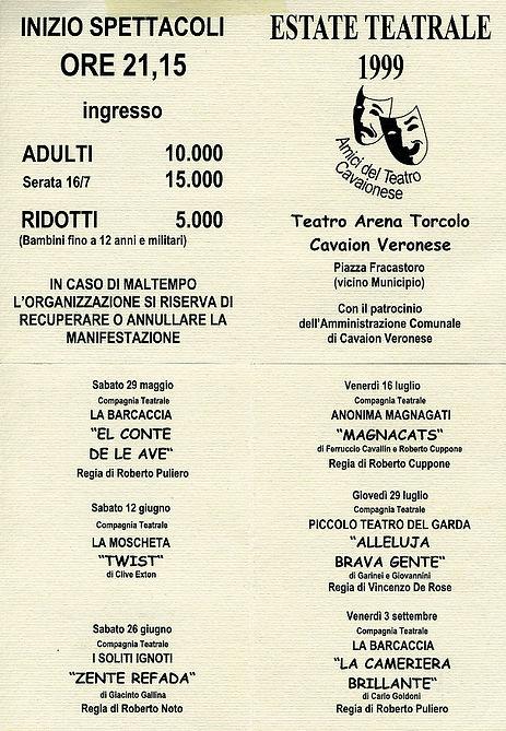 Estate Teatrale 1999