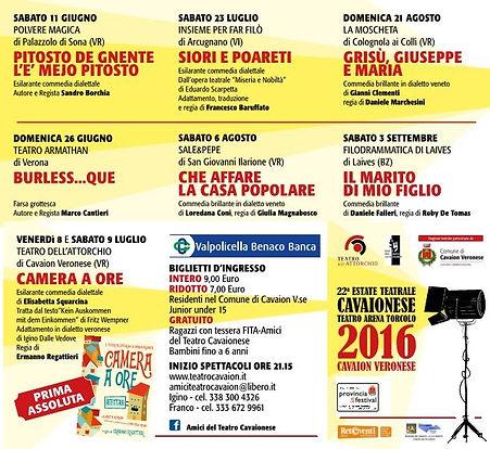 Estate Teatrale 2016