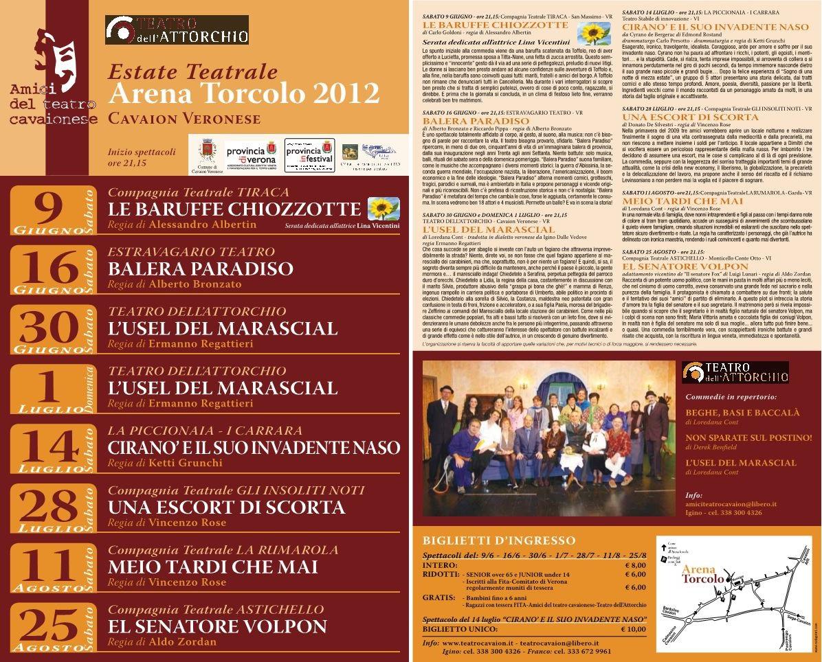 Estate Teatrale 2012