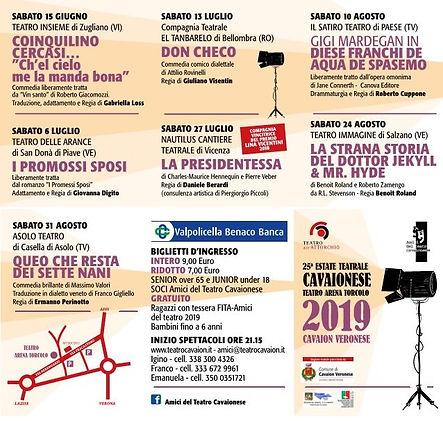 Estate Teatrale 2019
