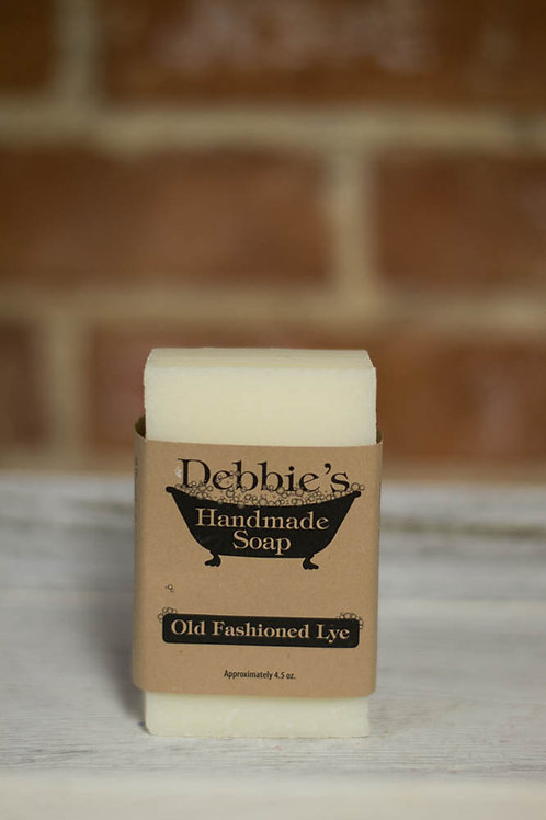 Old Fashioned Lye, Handmade Soap