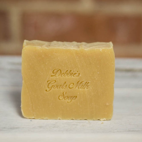 Goats Milk Soap, Lemongrass, Handmade Soap, 50% Olive Oil