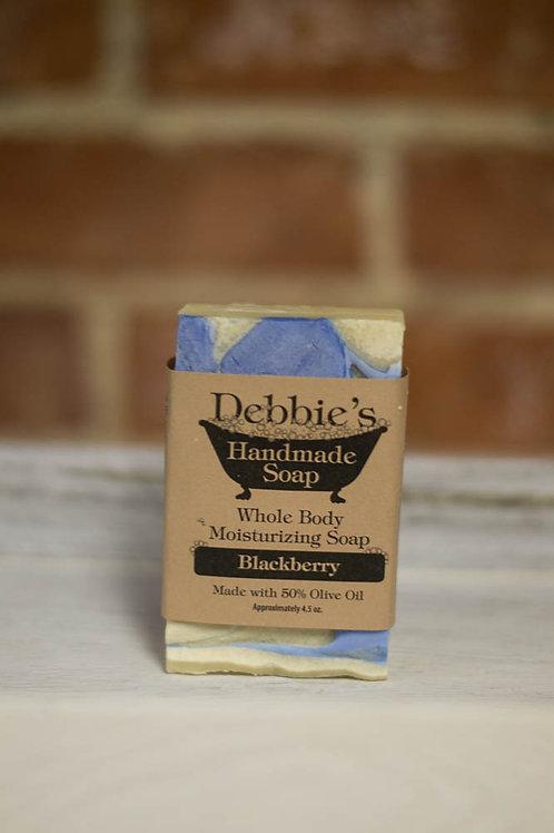 Blackberry, Handmade Soap, Handmade Olive Oil bar