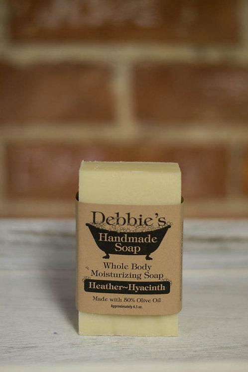 Heather Hyacinth, Handmade Soap