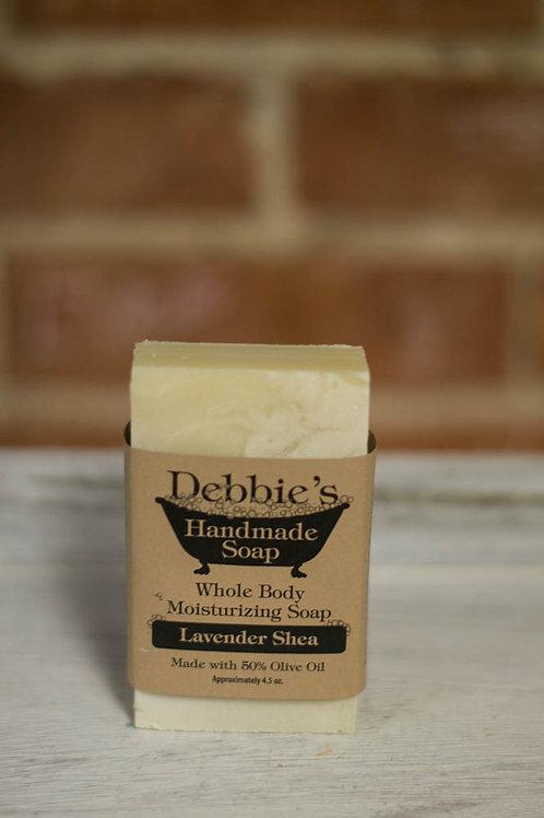 Lavender Shea, Handmade Soap, 50% Olive Oil
