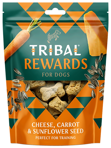 Cheese, Carrot & Sunflower Seeds Dog Biscuits