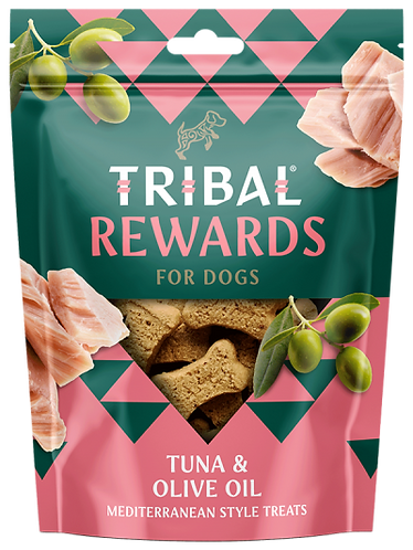 Tuna & Olive Oil Dog Biscuits