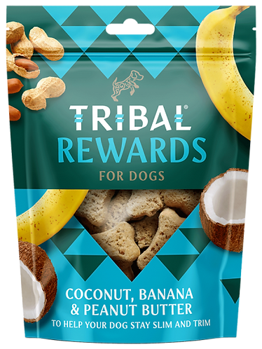 Coconut, Banana & Peanut Butter Dog Biscuits