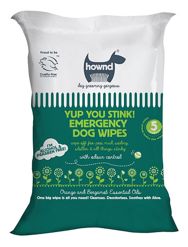 Emergency Dog wipes