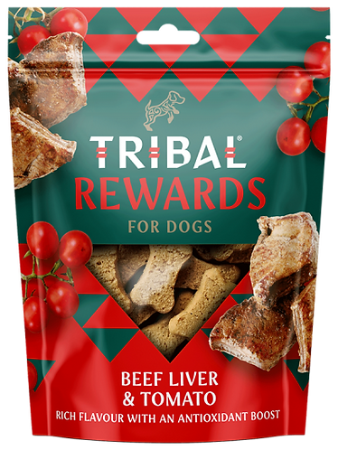 Beef, Liver & Tomato Dog Biscuits