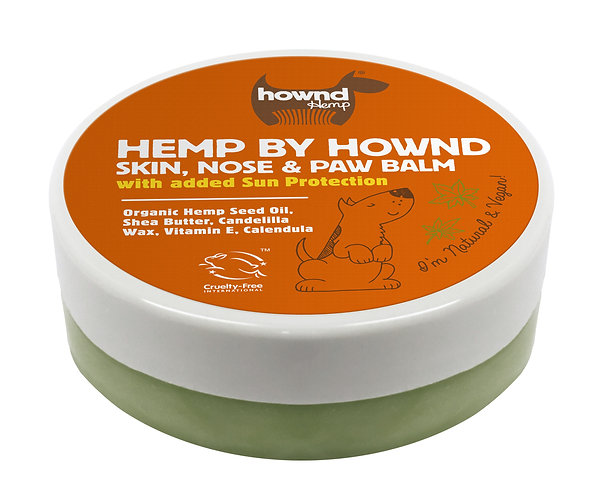 Hemp by HOWND Skin Nose and Paw Balm with Sun Protection (50g)