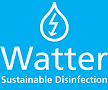 Logo_Watter (white letters on blue) with