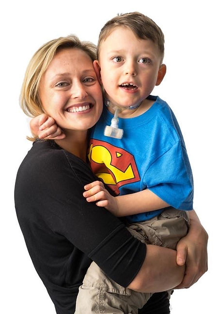 Mason and mommy