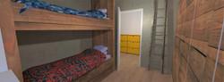 Tipologia D - Camera da letto singola - 2