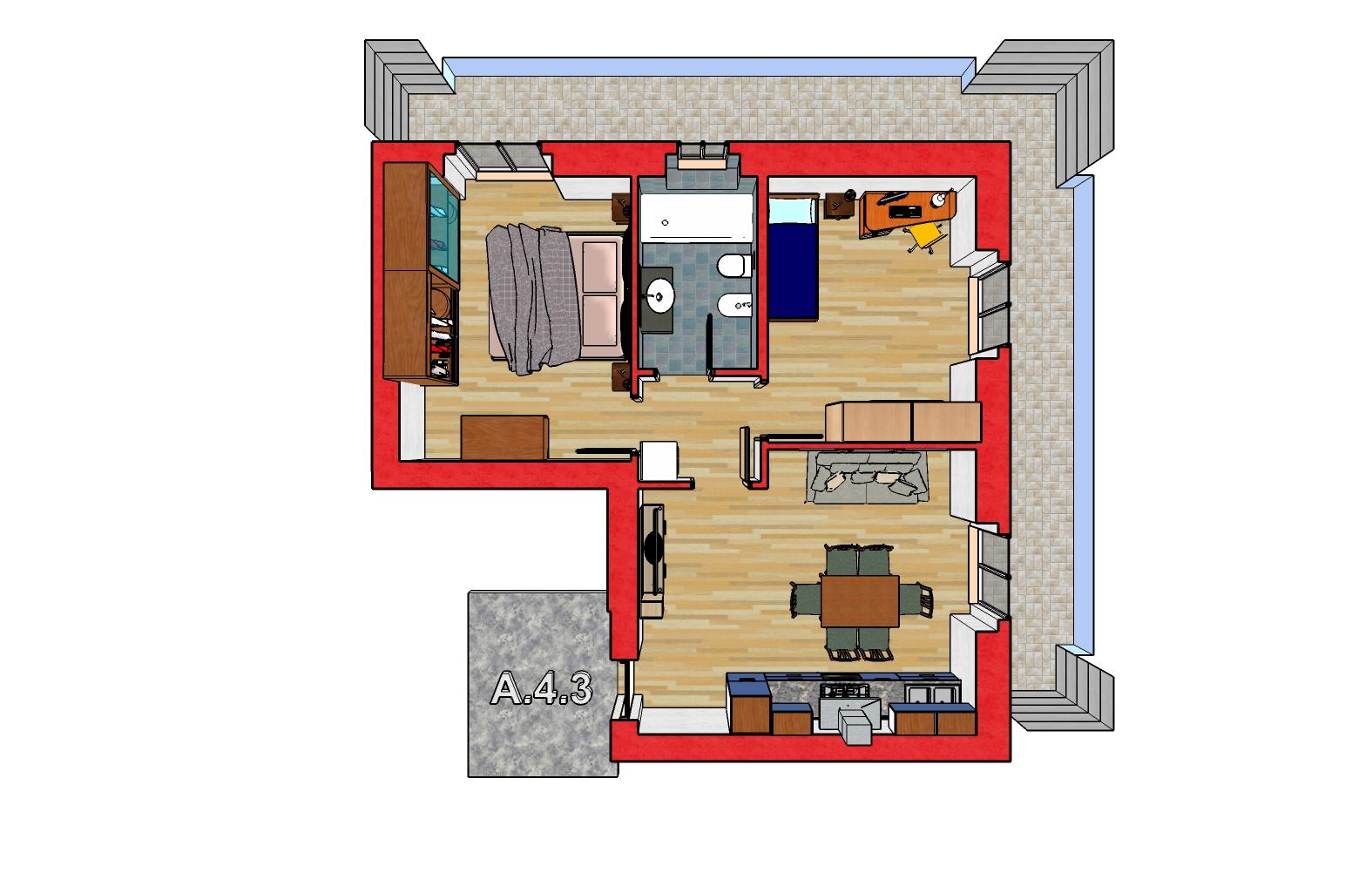A.4.3 Piantina 3D