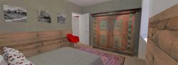 Tipologia D - Camera da letto - 2