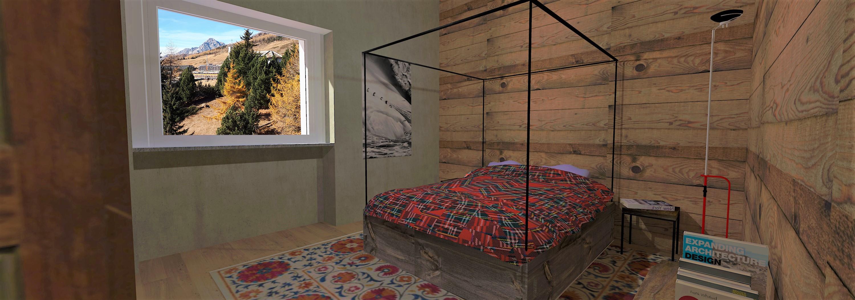 Tipologia alloggio D4 - Camera da letto -1