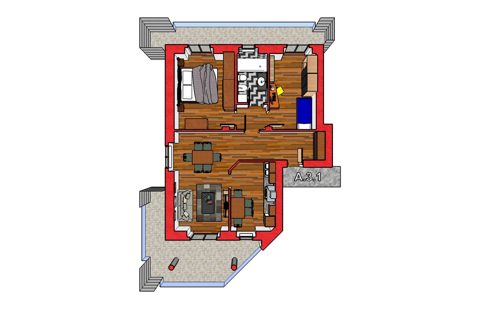 A.3.1 Piantina 3D