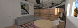 Tipologia E - soggiorno cucina 3 bis
