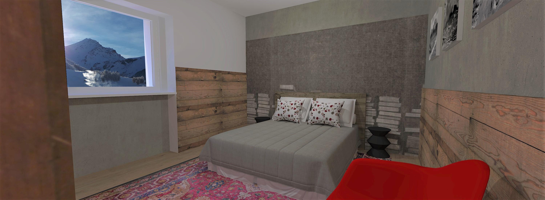 Tipologia D - Camera da letto - 1 - Var1