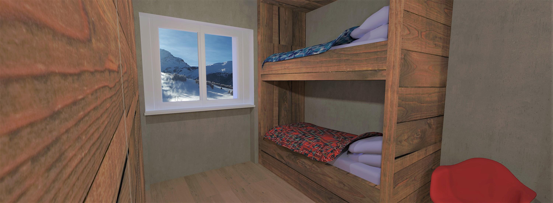 Tipologia D - Camera da letto singola - 1