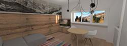 Tipologia E - soggiorno cucina 1 bis