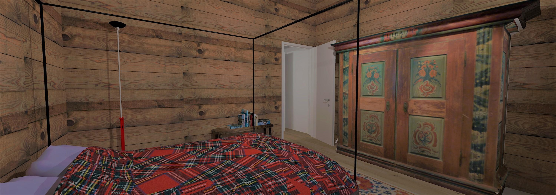 Tipologia alloggio D4 - Camera da letto -2