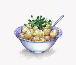 Pembrokeshire Early Potatoes Artwork