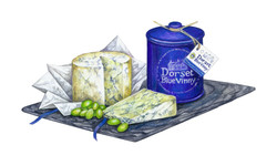 Dorset Blue Artwork