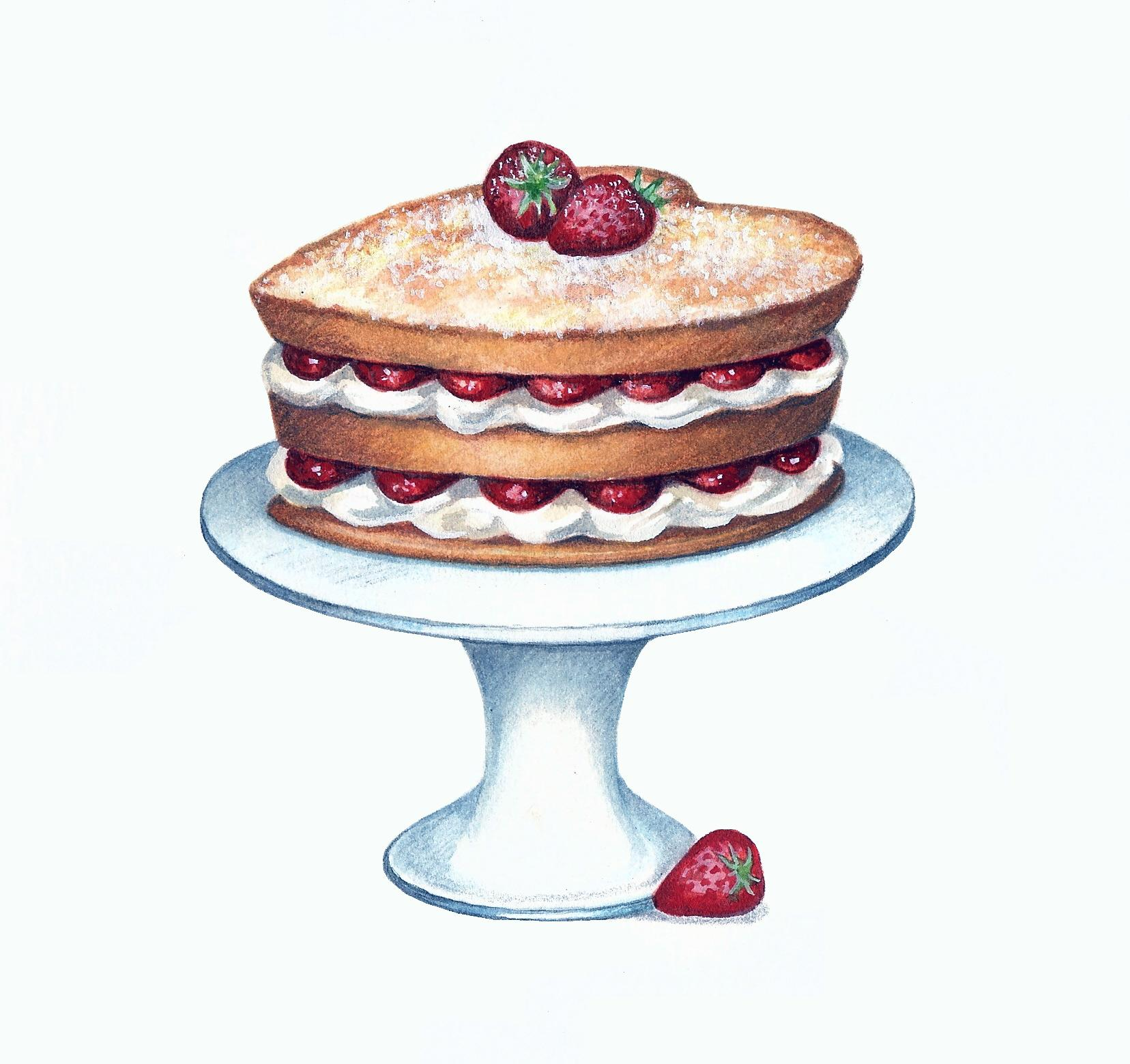 Courting Cake Artwork