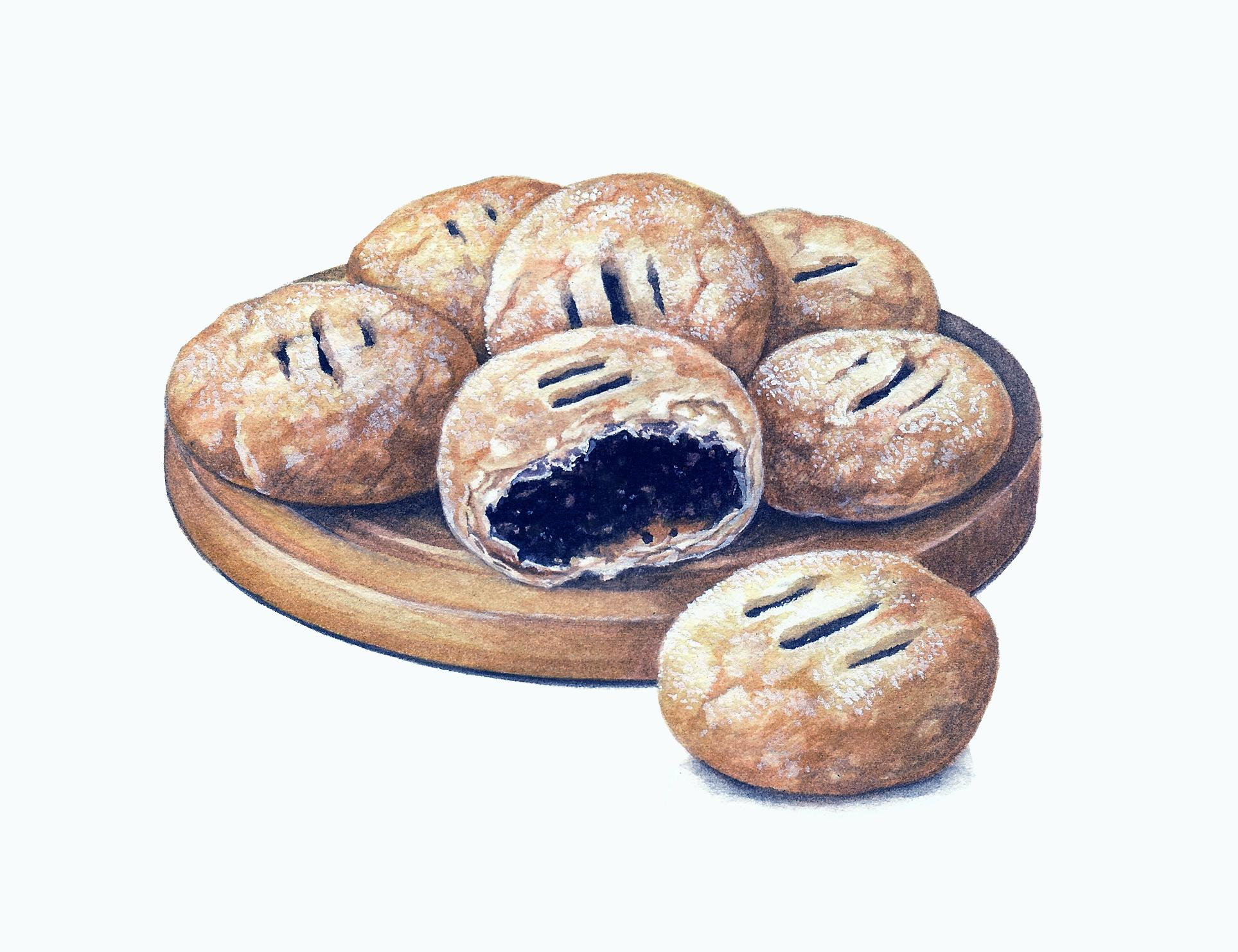 Eccles Cake Artwork