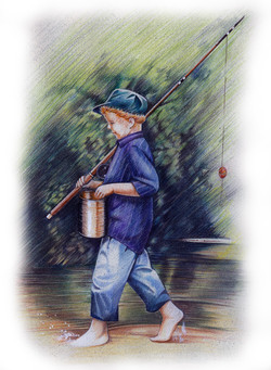 Little+Boy+with+Fishing+Rod