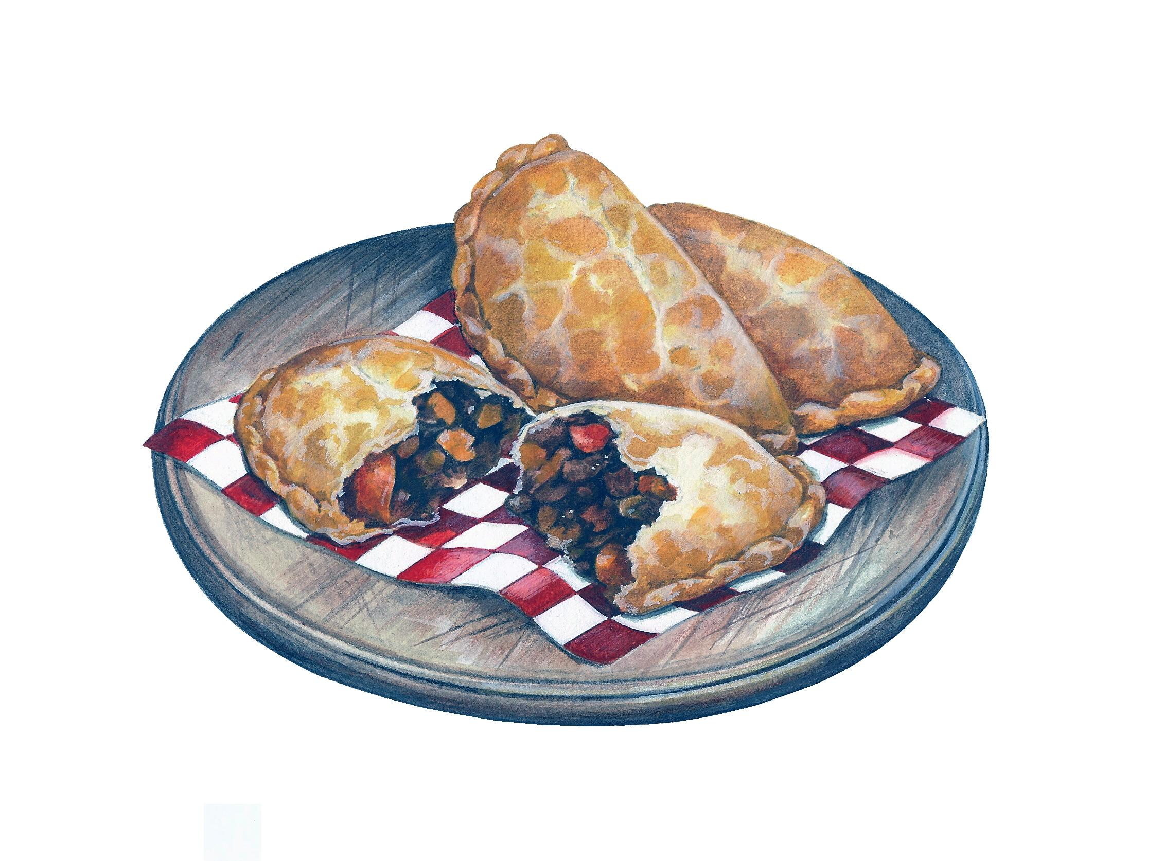 Cornish Pasty Artwork