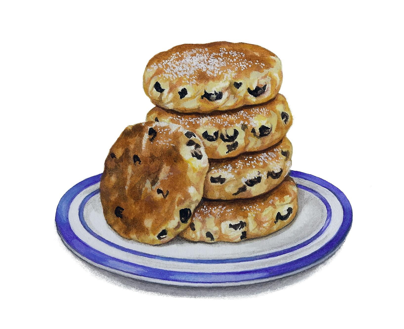 Welsh Cakes Artwork