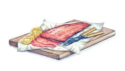 Welsh Salmon Artwork