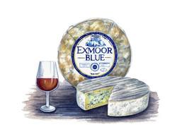 Exmoor Blue Cheese Artwork