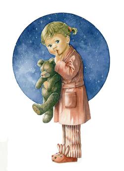 Girl & Teddy