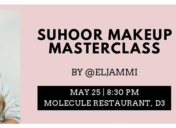 @eljammi Master Class VIP ticket