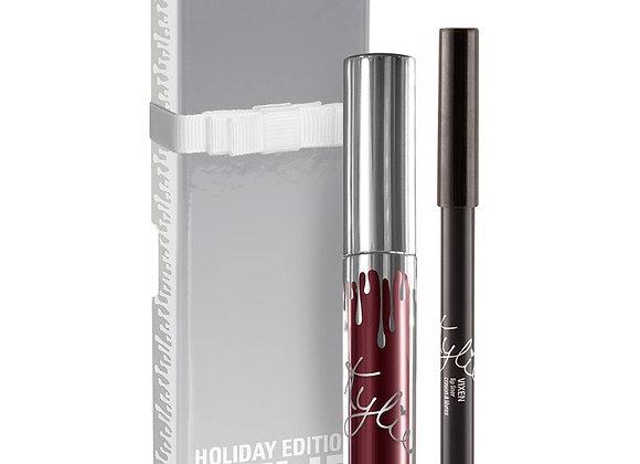 Kylie Cosmetics Holiday Edition 'Vixen' Lip Kit