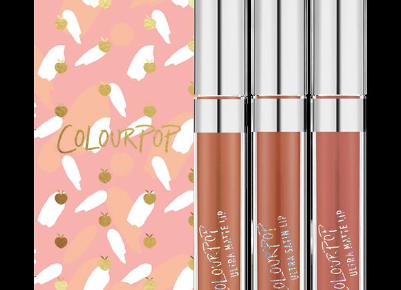 ColourPop 'Just Peachy' Lipsticks Set