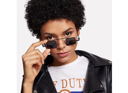 Square Black Sunglasses