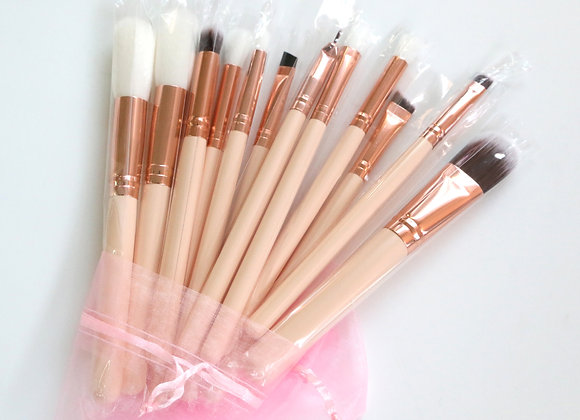 GlamJam Makeup Brushes Set