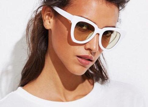 Classy White Sunglasses