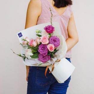 Bouquet (Purple & Pink)