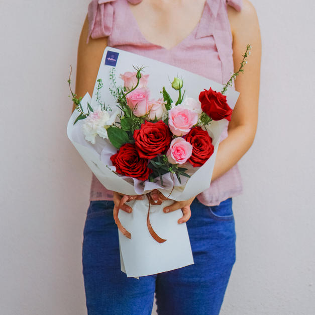 Bouquet (Red & Pink)