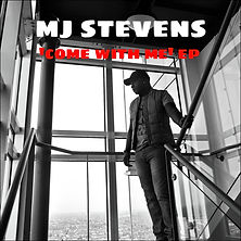 'Come With Me' EP, Mark.J.Stevens EP Cover Art