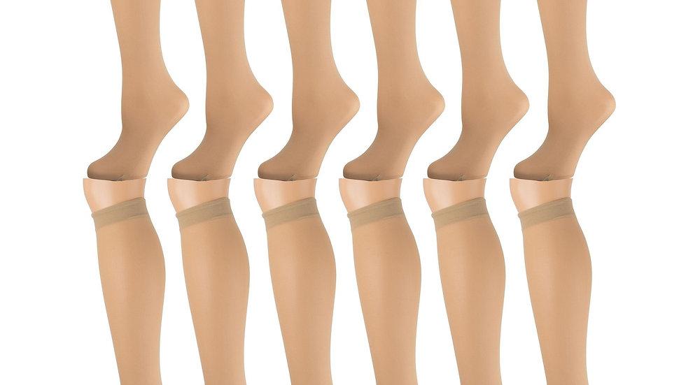 Womens Knee High Trouser Socks